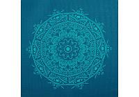 Коврик для йоги Bodhi Leela 183x60x0.4 см бирюзовый