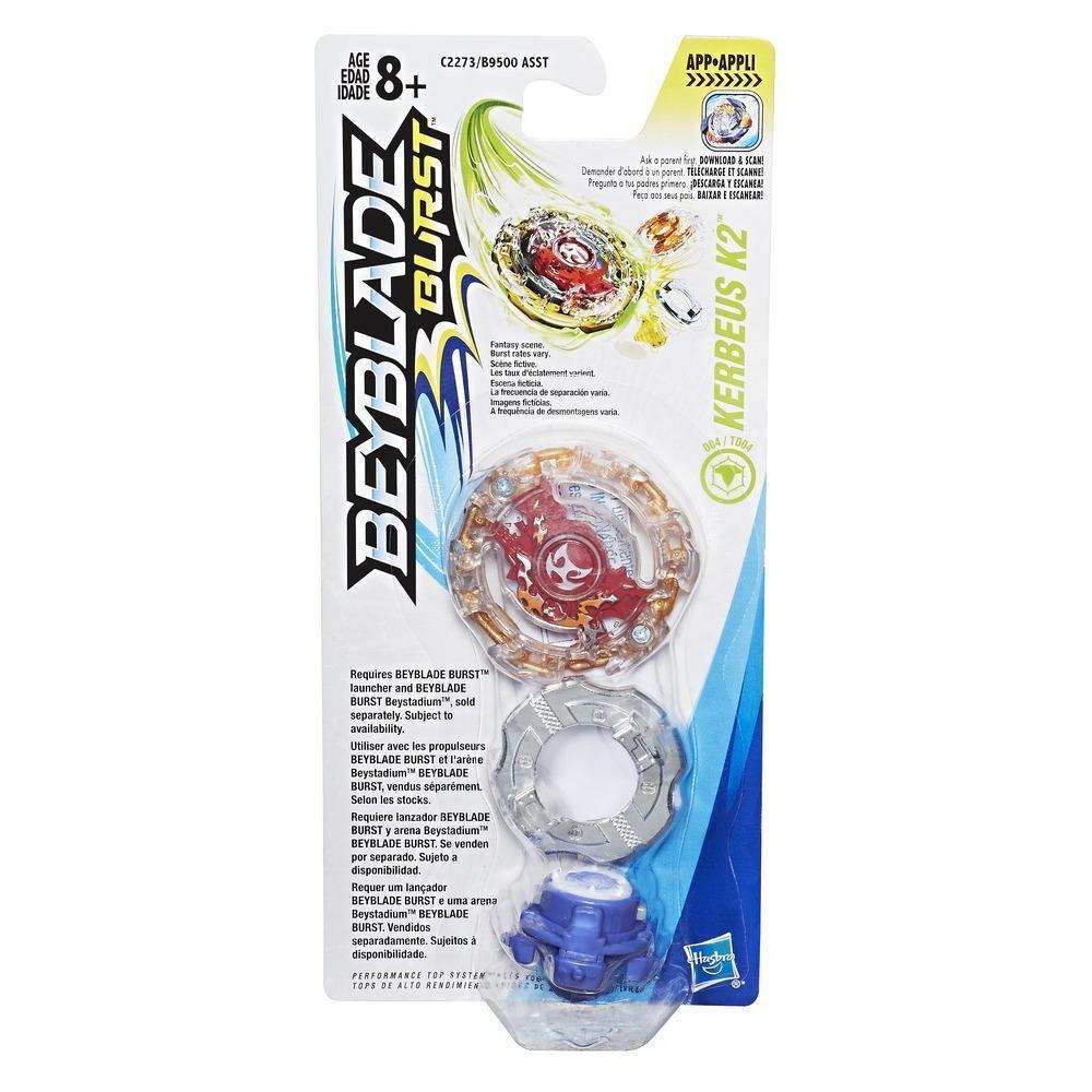 Волчок Бейблейд Кербеус K2 BEYBLADE BURST SINGLE TOP PACK KERBEUS K2 Hasbro (безпускателя)
