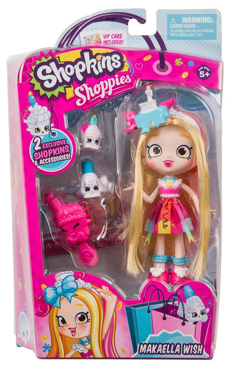 Кукла Шопкинс Макаэла Shopkins Shoppies Doll - Makaella Wish оригинал