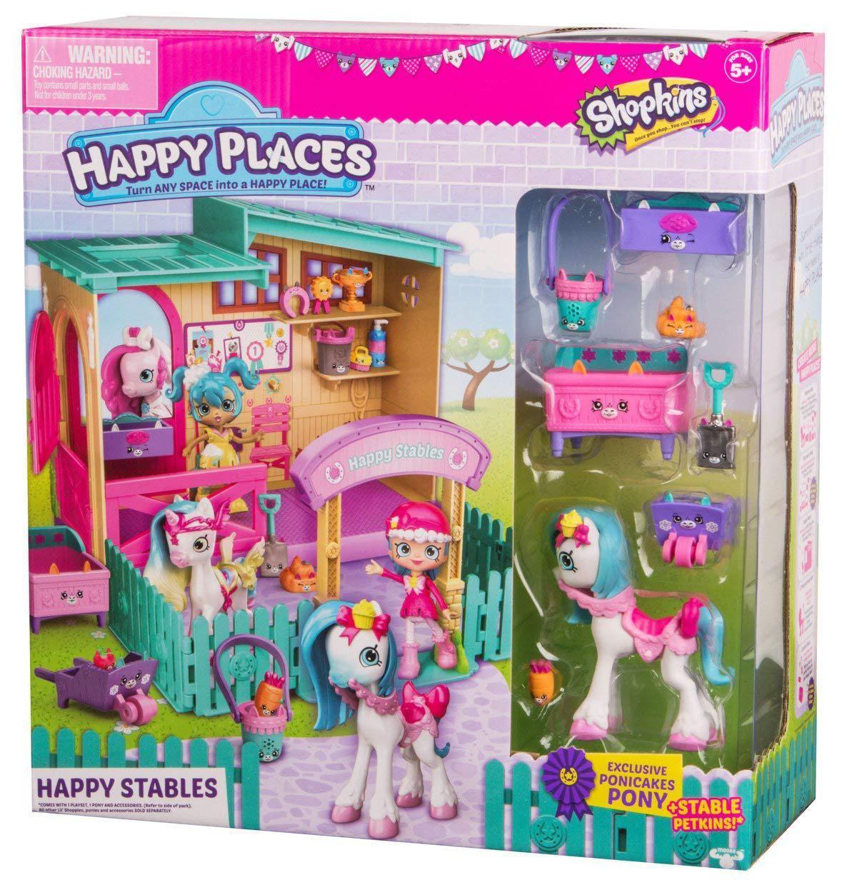"Игровой набор SHOPKINS Happy Places Happy Stables  ""Счастливые конюшни"""