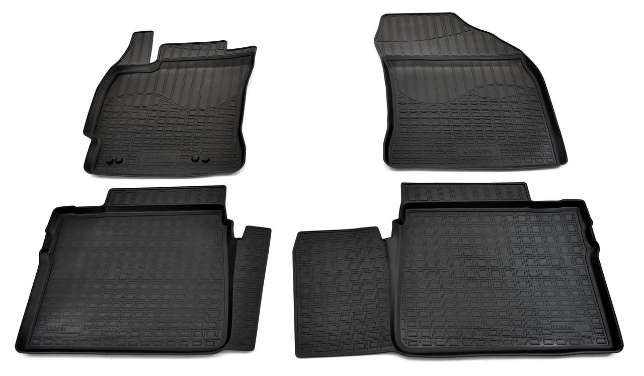 Коврики в салон для Тойота Corolla (E16) (13-) (полиур., компл - 4шт) NPA11-C88-150