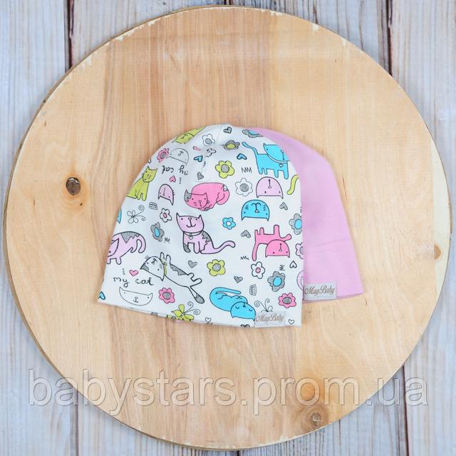 шапочка детская трикотажная