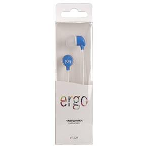 Наушники ERGO VT-229 Blue, фото 2