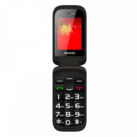 Мобільний телефон BRAVIS CLAMP (black), фото 2