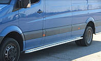 Пороги Volkswagen Crafter / Фольцваген Крафтер 2006- екстра длинная база, фото 1