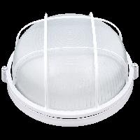 Корпус влагозащищенного светильника с решеткой Ilumia под лампу с цоколем GX53, корпус из алюминия и стекла, аналог НПП/НПБ/НББ/НБП (047)