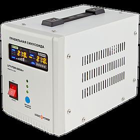 ИБП с правильной синусоидой LogicPower LPY-PSW-500VA+ (350W) 5A/10A