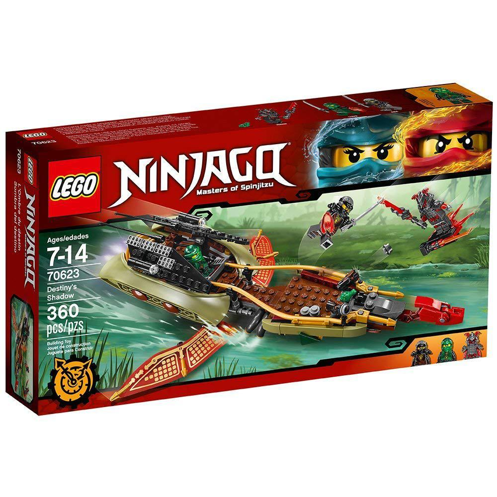 Лего ниндзяго Оригинал Тень судьбы 360 pcs Конструктор  LEGO Ninjago Destiny's Shadow 70623