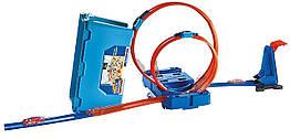 Трек Хот Вилс Коробка для трюков Двойная петля Hot Wheels Track Builder Multi Loop Box