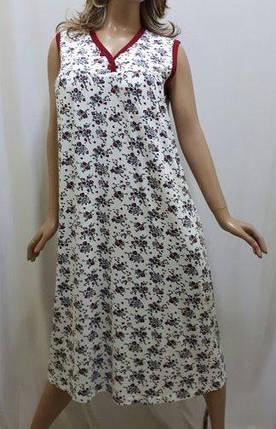 Сорочка женская вискозная большого размера код123, фото 2