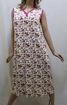 Сорочка женская вискозная большого размера код123, фото 3