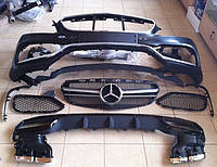 Обвес AMG на Mercedes E212 рестайлинг