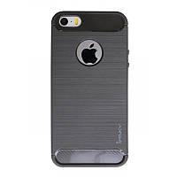 Чохол-накладка iPaky для iPhone 5/5S/SE Slim ser. TPU Сірий(323474)