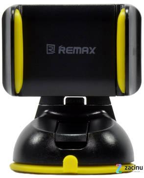 Автотримач для телефона Remax RM-C06 Чорний, фото 2