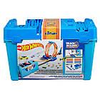 Hot Wheels Track Builder Multi Loop Box Трек Хот Вилс Коробка для трюков Двойная петля, фото 4