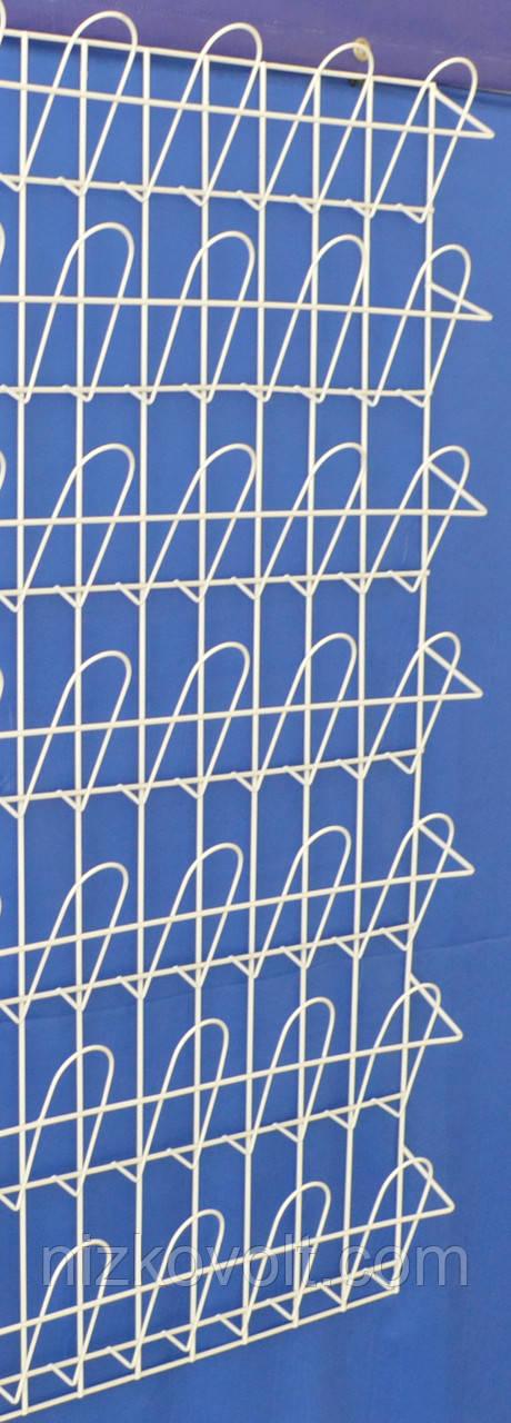 Навесная  полка  корзиночная 7 рядов по 4 ячейки, фото 1