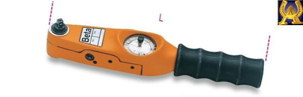 """Стрілочний динамометричний ключ 1-27 Nm 3/8"""", Beta 592/3"""