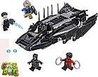 LEGO Superheroes ЛЕГО Оригинал Чёрная пантера Атака королевского истребителя  76100, фото 2