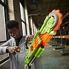 Бластер Нерф Зомби Страйк Бензопила  Nerf Zombie Strike Brainsaw Blaster, фото 3
