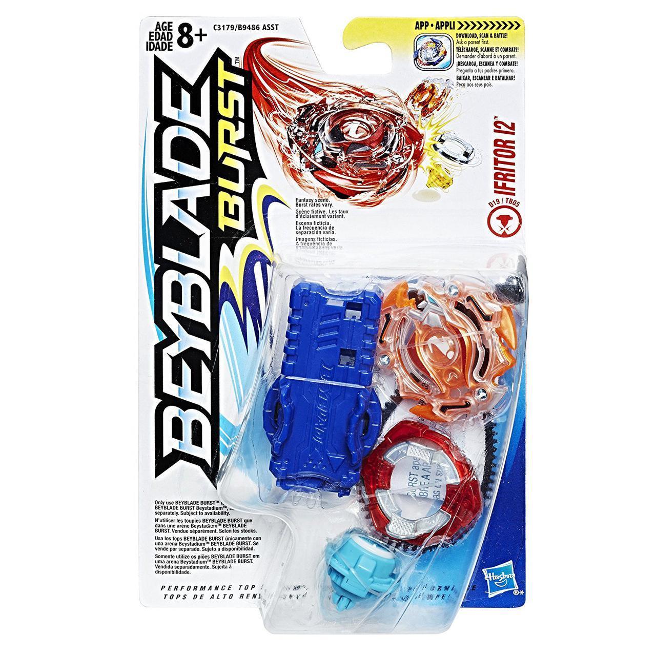 Волчок Бейблейд Взрыв Ифритор с пускателем Beyblade Burst Starter Pack Ifritor I2