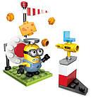 Мега Блокс Конструктор Миньоны Перестрелка с сыром Mega Construx Despicable Me Cheese Shootout Building Set, фото 4