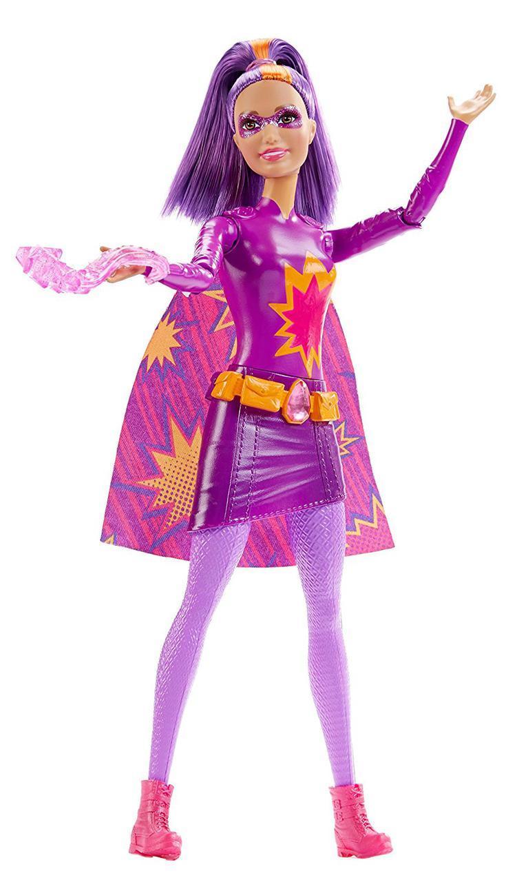 Кукла Барби Повелительница огня (пурпурная) Barbie in Princess Power Hero Fashion - Purple