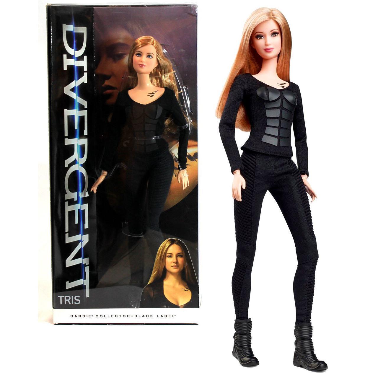 Коллекционная кукла Барби дивергент Трис Barbie Collector divergent Tris