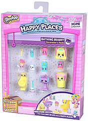 Набор Happy Places Shopkins Bathing Bunny Шопкинсы  оригинал Счастливые места - Купание кролика