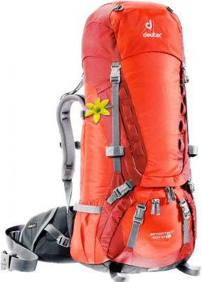 Треккинговый, удобный женский рюкзак на 40+10 л. ACT TRAIL 40+10 EL DEUTER, 33412 9503 оранжевый