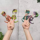 Оригинал Интерактивный коллекционный динозавр Фьёри фингерлинг Untamed Raptor by Fingerlings - Fury by WowWee, фото 8