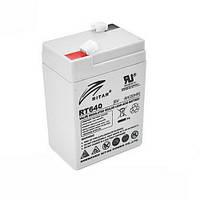 Акумулятор AGM RITAR RT640 6V 4Ah