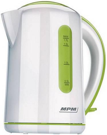 Електрочайник MPM MCZ-42 Green, фото 2