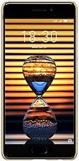 Чехол накладка Nillkin для Meizu Pro 7 Matte ser. + Пленка Золотистый (145030), фото 3