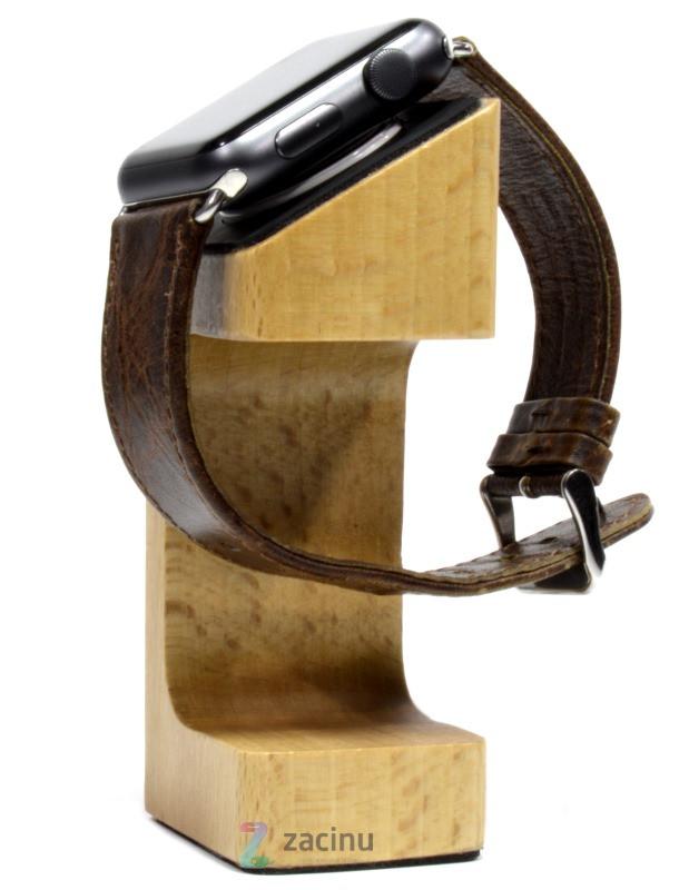 Док-станція для Apple iWatch Wooden ser. Світло-коричневий
