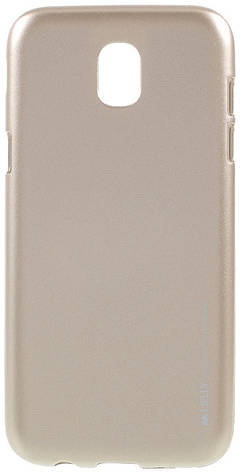 Чохол-накладка Mercury для Samsung J530F J5(2017) iJelly Metal ser. TPU Золотистий(376159), фото 2