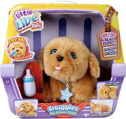 Интерактивная игрушка Щенок моей мечты Сноглс Лител Лайф Петс Little Live Pets Snuggles My Dream Puppy Moose