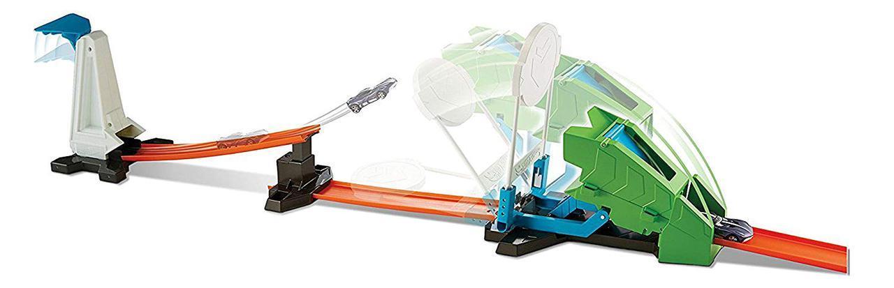 Хот вилс Трек вызов на дуэль Hot Wheels Track Builder Hammer Drop Challenge