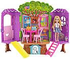Игровой набор Barbie домик на дереве кукла Челси Barbie Club Chelsea Treehouse Playset, фото 7
