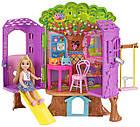 Игровой набор Barbie домик на дереве кукла Челси Barbie Club Chelsea Treehouse Playset, фото 10