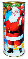 Подарочная Новогодняя упаковка - тубус на 500 грамм