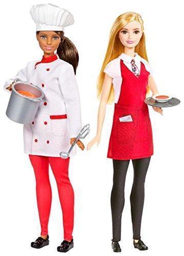 Игровой набор Барби шеф-повар и официант  Barbie Friend Careers Chef & Waiter