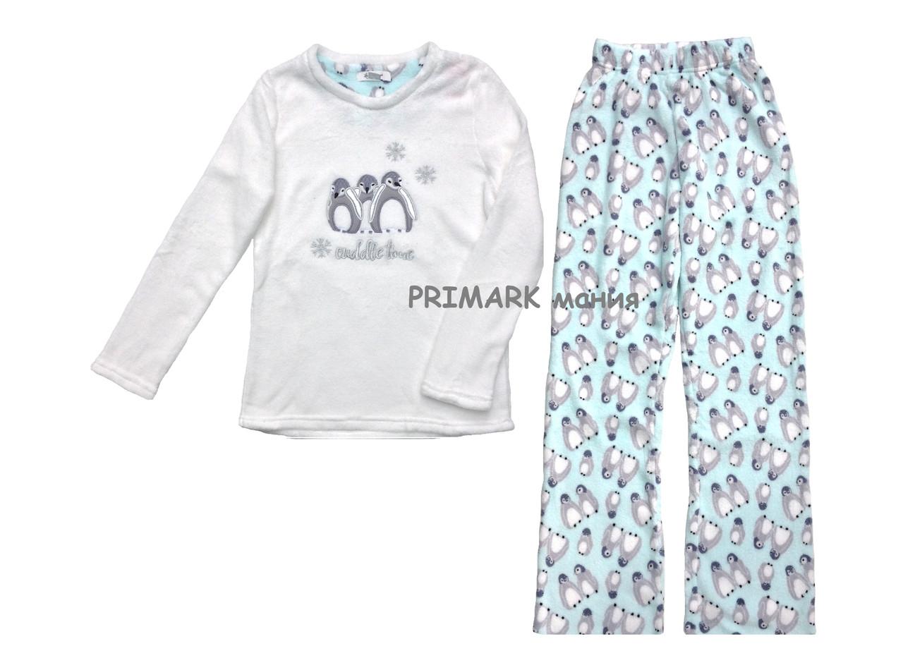 Женская пижама флис Primark  продажа 46e50db5ec5ea