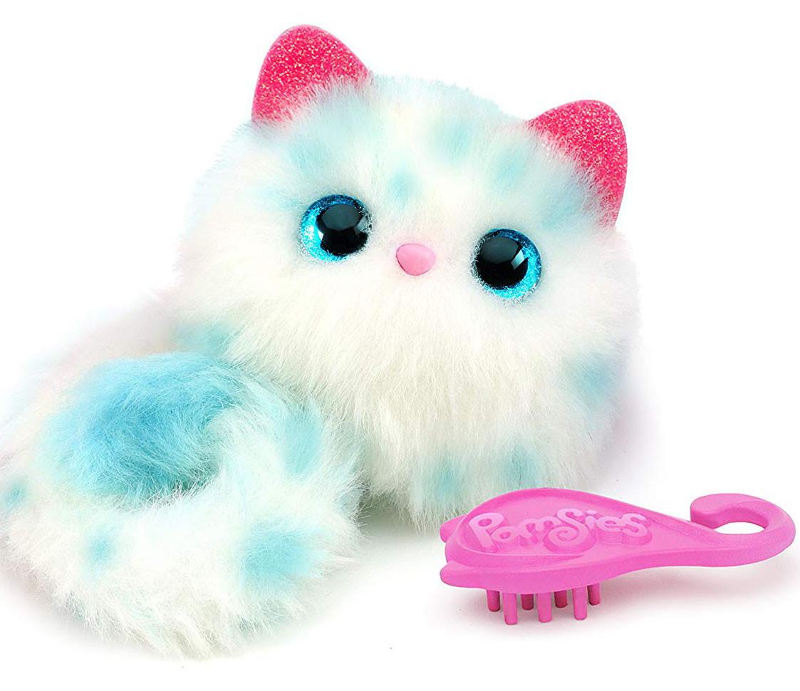 Интерактивная игрушка Помсис Снежок Pomsies Snowball Plush Interactive