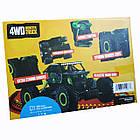 Машина Джип на радиоуправлении Кравлер Зеленый Toydaloo Remote 4WD Monster Crawler, фото 6
