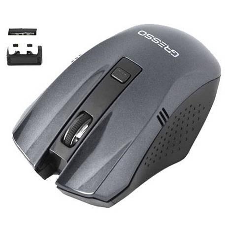 Мышка Gresso GM-896G Wireless Black, фото 2