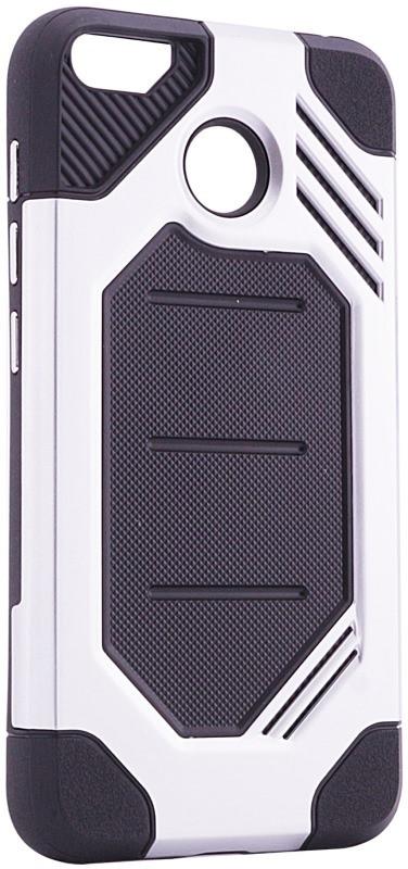Чохол-накладка Motomo для Xiaomi Redmi 4X Military ser. Сріблястий