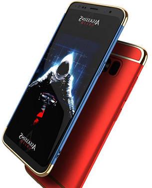 Чохол-накладка iPaky для Samsung G955 S8 Plus Joint ser. Червоний, фото 2