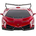 Спортивная машина Ламборгини на радиоуправлении, Lamborghini veneno 1:24 из США, фото 5