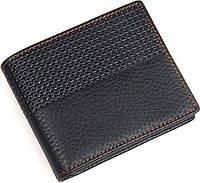 Кошелек мужской Vintage 14452 кожаный Черный, фото 1