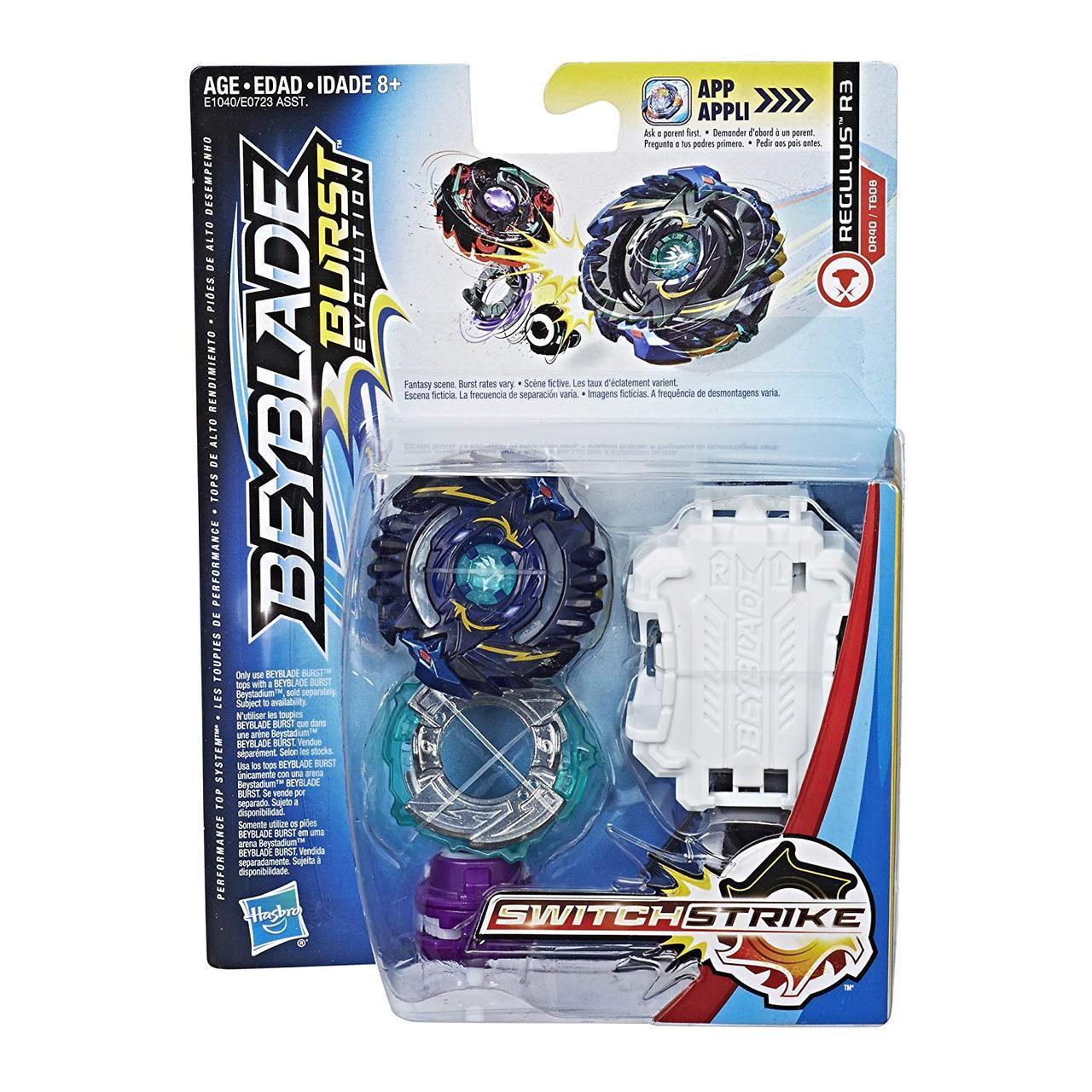 Бейблейд Эволюция Оригинал Регулус р3 с пускателем Hasbro  Beyblade Burst Evolution Regulus R3